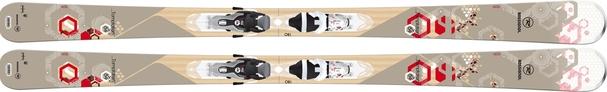Горные лыжи Rossignol Temptation 84 + Xelium Saphir 110 (14/15)