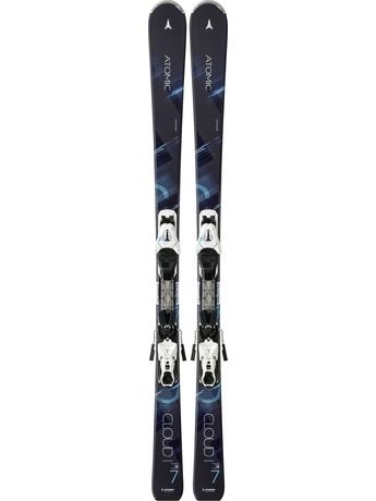 Горные лыжи Atomic Cloud Seven + XTE 10 Lady 14/15