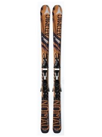 Горные лыжи Atomic Savage Ti + крепления XTO 14 Sport 10/11