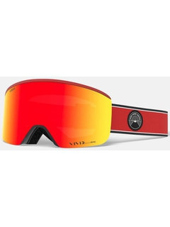 Маска Giro Axis Red Element / Vivid Ember 35 + Vivid Infrared 58