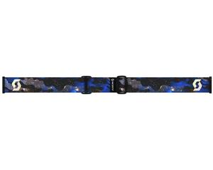 Маска Scott Level Cosmic Camo Blue / Gold Chrome