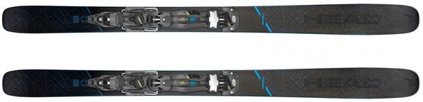 Горные лыжи Head Kore 117 + крепления Attack2 16 GW (19/20)