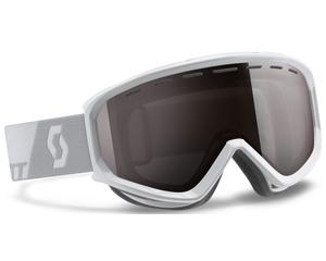 Маска Scott Level White / Silver Chrome