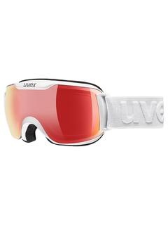 Маска Uvex Downhill 2000 S VFM White / Mirror Red Variomatic® Clear