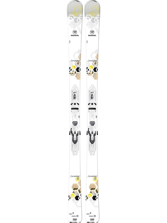Горные лыжи Rossignol Temptation 75 + Xelium Saphir 100 14/15