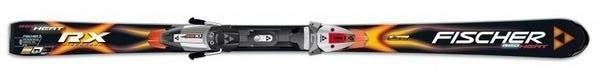 Горные лыжи Fischer RX Red Heat + крепления FS10 RAILFLEX 2 (07/08)