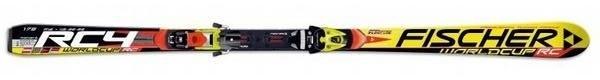 Горные лыжи Fischer RC4 Worldcup RC + крепления RC4 Z 17 FLOWFLEX (07/08)