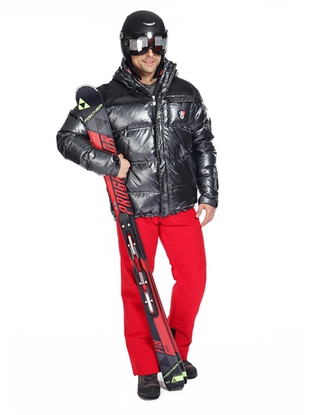 Горнолыжная куртка Rossignol Strato Titane Down JKT Shine Black