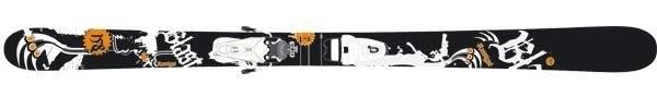 Горные лыжи Rossignol Blast + крепления AXIUM SCRATCH 100 (07/08)