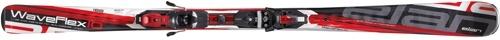 Горные лыжи Elan Waveflex 10 PST Red + крепление EL10.0 (10/11)