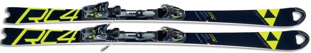 Горные лыжи Fischer RC4 Worldcup SL Curv Booster + крепления RC4 Z18 (18/19)