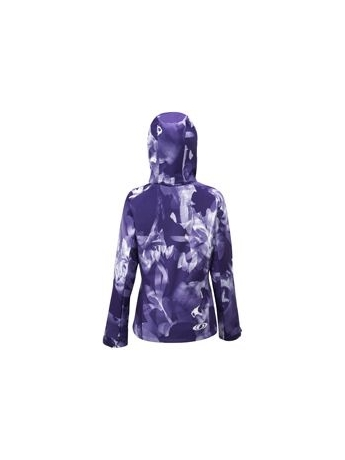 Куртка Salomon SnowTrip Premium 3.1 Jacket W Eggplant/White