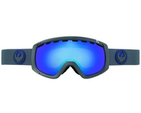 Маска Dragon ROGUE Carbon /Dark Smoke Blue + Yellow Blue Ionized
