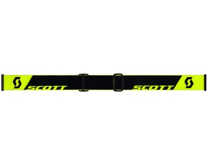 Маска Scott Faze Neon Yellow / Silver Chrome