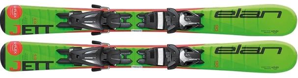 Горные лыжи Elan Jett QS + крепления EL 4.5 (70-90) (17/18)