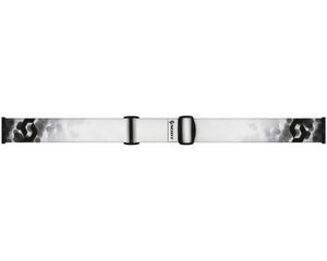 Маска Scott Level Blur White / Silver Chrome
