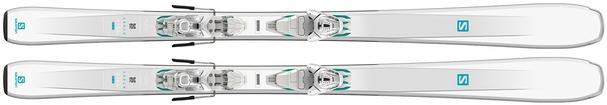Горные лыжи Salomon Aira 76 ST R + крепления Lithium 10 W (18/19)