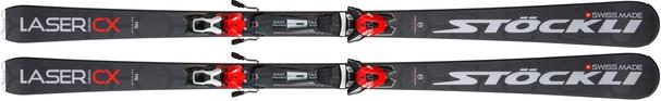 Горные лыжи Stockli Laser CX + крепления MC 12 (19/20)