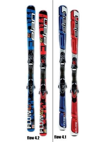 Горные лыжи Elan Flow 4 TMD + крепления EL 10 TMD 07/08 07/08