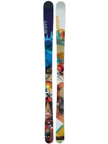 Горные лыжи с креплениями Scott Punisher Lib + Mojo 12 wode 88 11/12