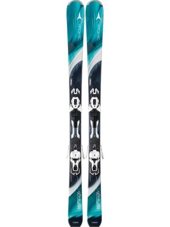 Горные лыжи Atomic Affinity Storm + крепления XT 10 Ti 15/16