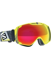 Маска Salomon XTEND Yellow / Mid Red