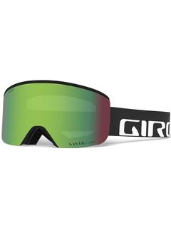 Маска Giro Axis Black Wordmark / Vivid Emerald 22 + Vivid Infrared 62