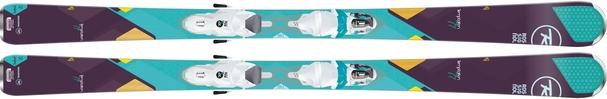 Горные лыжи Rossignol Temptation 77 + Xelium Saphir 110 (15/16)