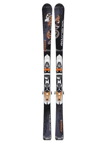 Горные лыжи Rossignol Attraxion III + крепления SAPHIR 110 07/08