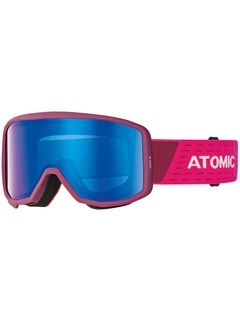 Детская маска Atomic Count JR Cylindrical Berry Pink / Blue