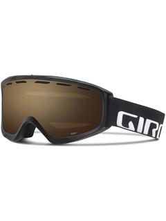 Маска Giro Index Black Wordmark / Persimmon Blaze 50
