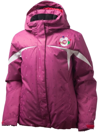 Детский костюм Rossignol DIAMOND Pink куртка + брюки