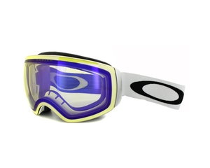 Маска Oakley Flight Deck XM Matte White / H.I. Yellow Iridium