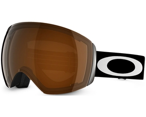 Маска Oakley Flight Deck Matte Black / Black Iridium & Persimmon