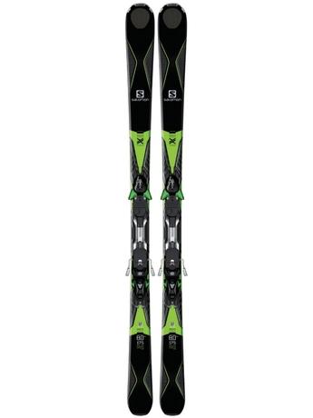 Горные лыжи Salomon X-Drive 8.0 FS + крепления XT 12 16/17
