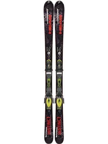 Горные лыжи Head Power Instinct Ti Pro + Attack 11 15/16