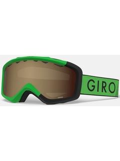 Детская маска Giro Grade Bright Green / Black Zoom / Amber Rose 40