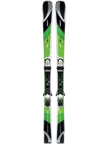 Горные лыжи с креплениями Elan Amphibio Waveflex 78 TI Fusion + ELX 11 12/13