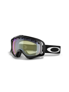 Маска Oakley Crowbar Snow Jet Black / H.I. Yellow