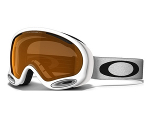Маска Oakley A-Frame 2.0 Polished White / H.I. Yellow