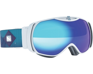 Маска Salomon XTEND S White Lagoon / Mid Blue