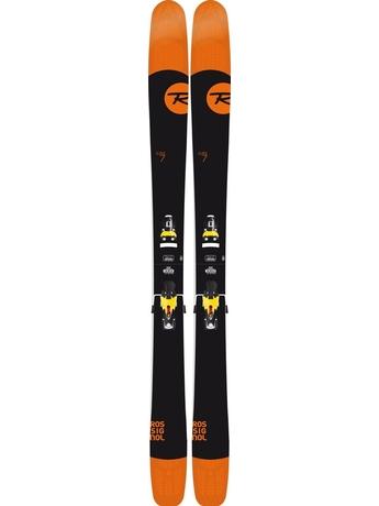 Горные лыжи Rossignol Super 7 + Axial3 120 14/15