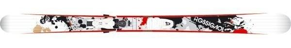 Горные лыжи Rossignol Scratch Brigade Pro + крепления AXIUM SCRATCH 110 (07/08)