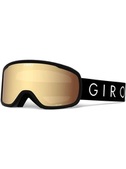 Маска Giro Moxie Black Core Light / Amber Gold 23 + Yellow 84