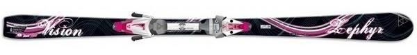 Горные лыжи Fischer Vision Zephyr + крепления V9 RAILFLEX FW (07/08)