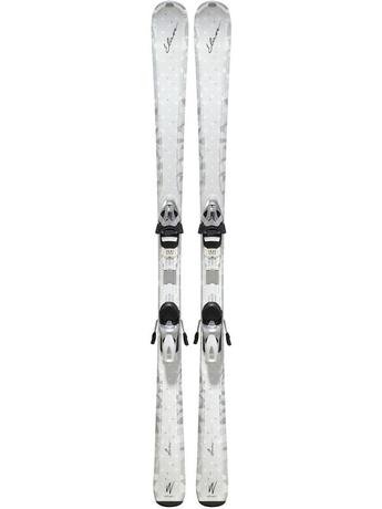 Горные лыжи с креплениями Elan White Magic Fusion + ELW 9.0 11/12