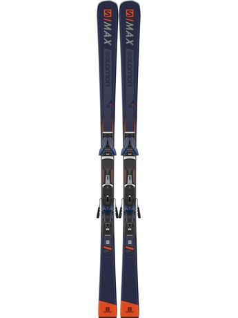 Горные лыжи Salomon S/Max 12 + крепления Z 12 Walk 18/19