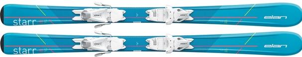 Горные лыжи Elan Starr QS + крепления EL 4.5 (100-120) (17/18)