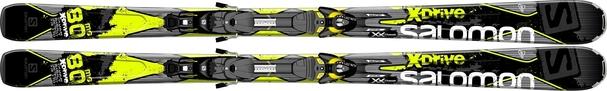 Горные лыжи Salomon X-Drive 80 MG + Z10 (14/15)
