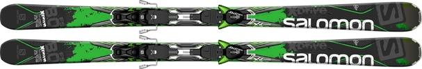 Горные лыжи Salomon X-Drive 8.0 FS + XT12 (14/15)